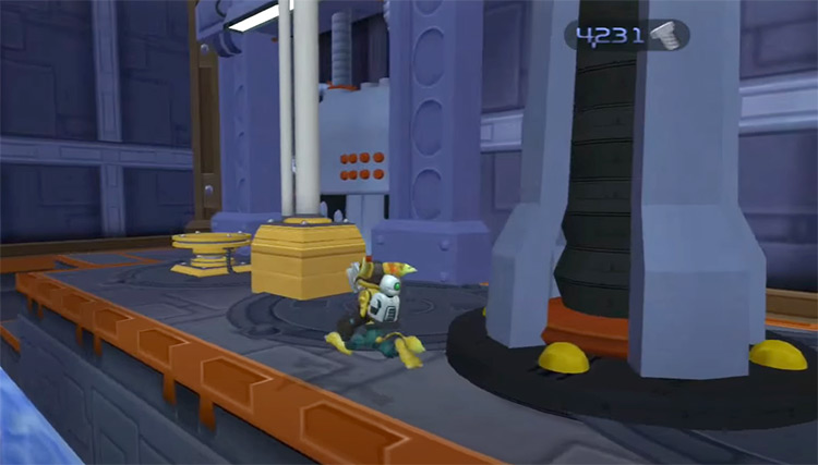 Ratchet & Clank 2002 original screenshot