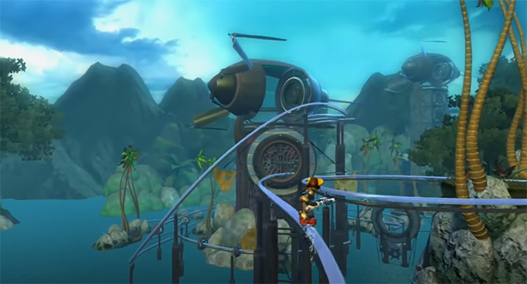 Ratchet & Clank: Quest for Booty screenshot