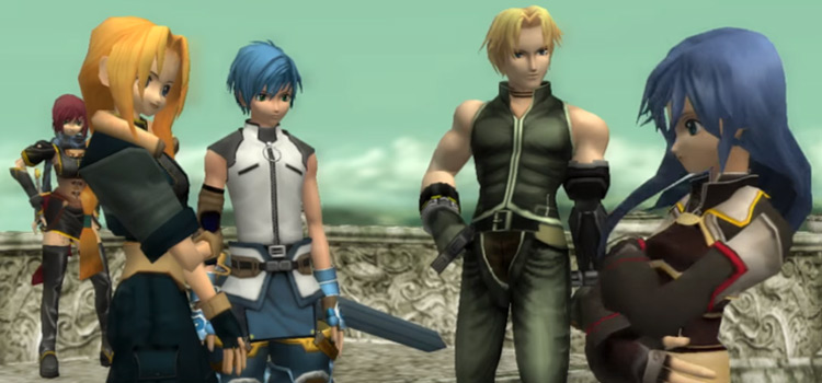 Star Ocean HD crew screenshot