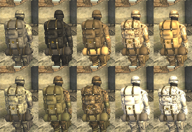 Dragonskin Tactical Outfit mod
