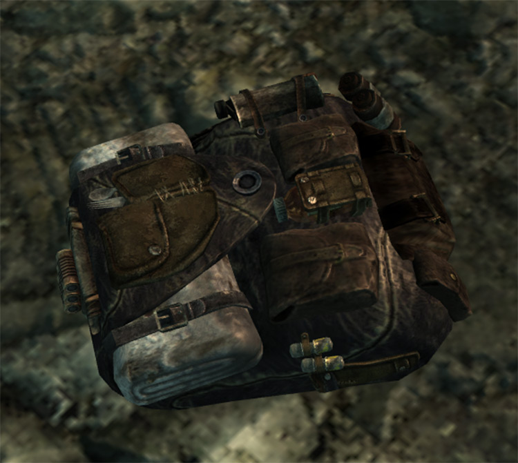 Leather Backpack FO3 mod