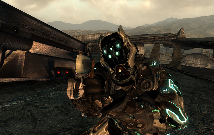 Coyote Reflex Power Armor FO3