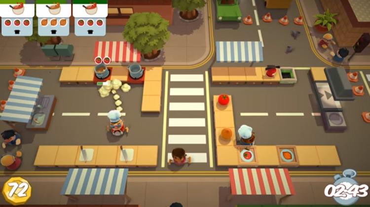 Overcooked 1 & 2 gameplay screenshot