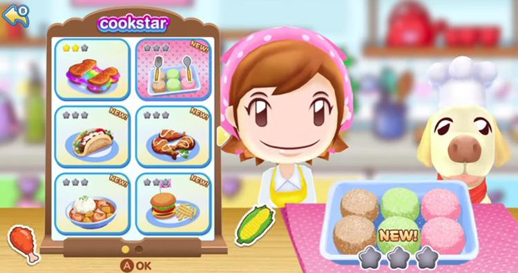 Cooking Mama gameplay screenshot