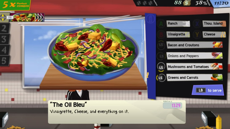 Cook, Serve, Delicious! gameplay screenshot