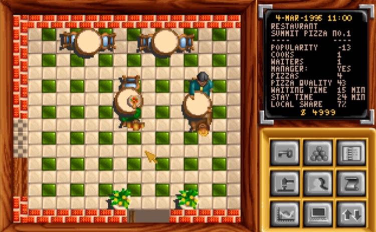 Pizza Tycoon gameplay screenshot