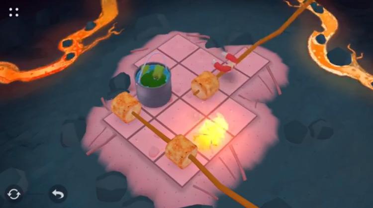 Campfire Cooking gameplay screenshot