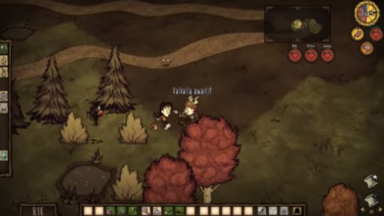Don't Starve Together gameplay screenshot