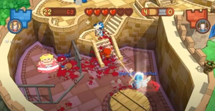 Fat Princess Series gameplay screenshot