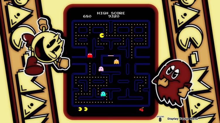Pac-Man gameplay screenshot