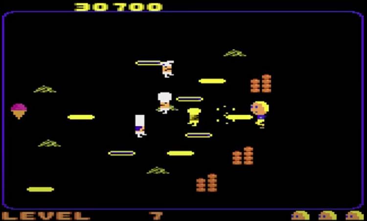 Food Fight gameplay screenshot