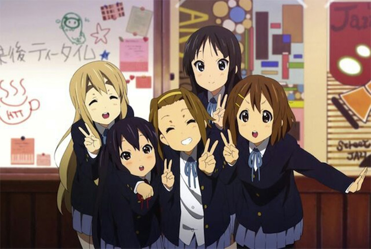K-On anime screenshot