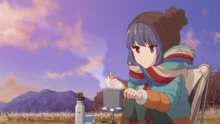 Laid-Back Camp anime