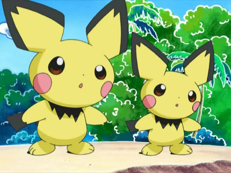 Pichu Baby Pokemon in Anime
