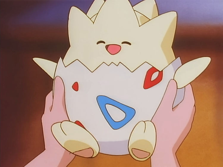 Togepi Pokemon anime screenshot
