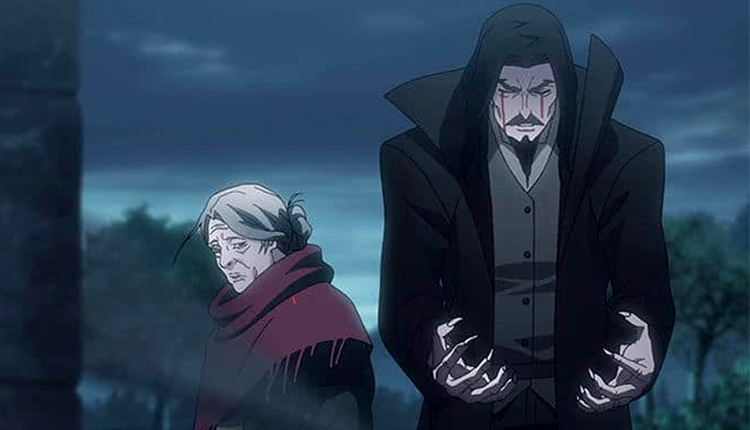 Castlevania anime screenshot