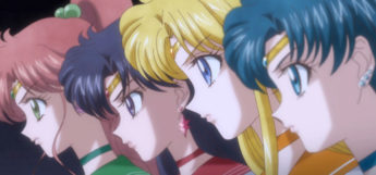 Sailor Moon girls anime screenshot
