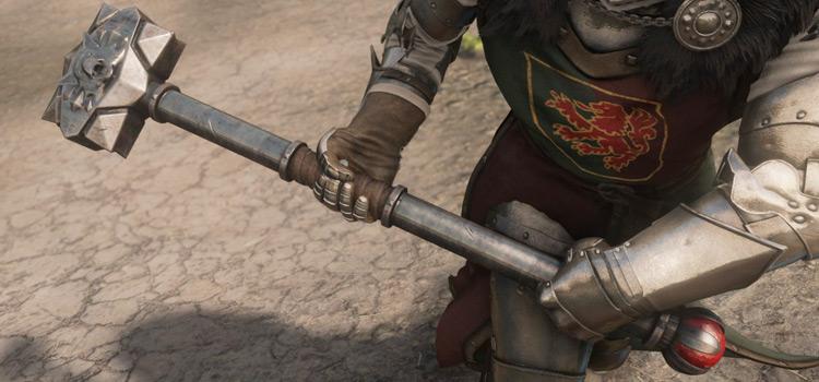 Skyrim modded Amsvartner warhammer