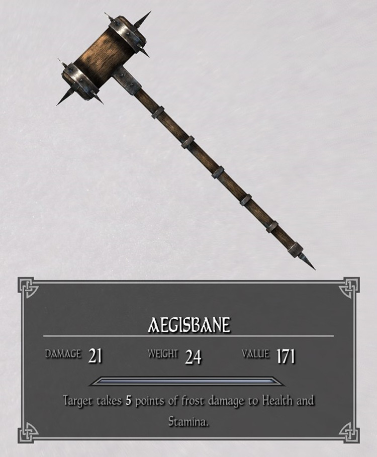 Aegisbane warhammer Skyrim