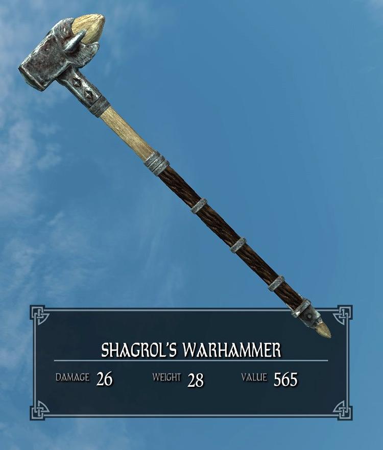 Shagrol's Warhammer Skyrim