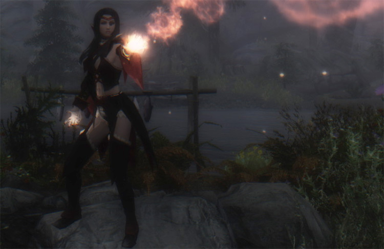New Animation for Magic Casting mod