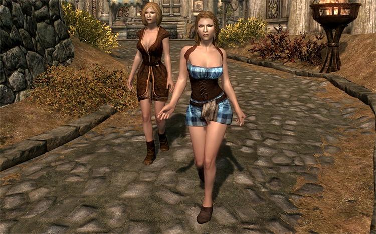 FNIS Sexy Move Skyrim mod