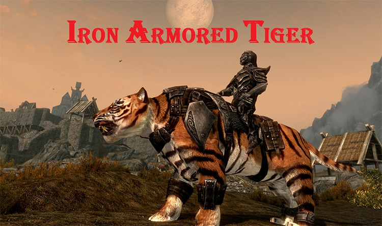 Big Cats and Mount Followers mod
