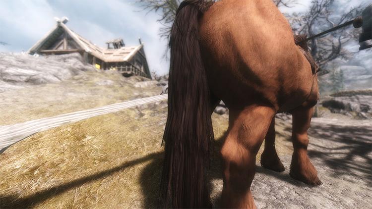 Hale Horse Retexture mod