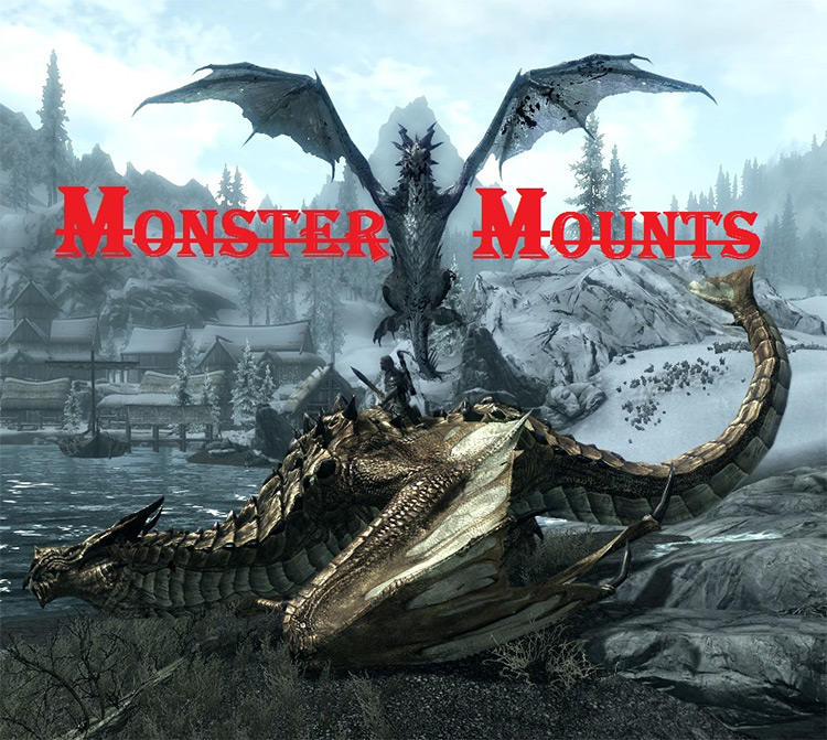 Monster Mounts mod