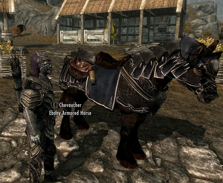 New Armored Horses mod