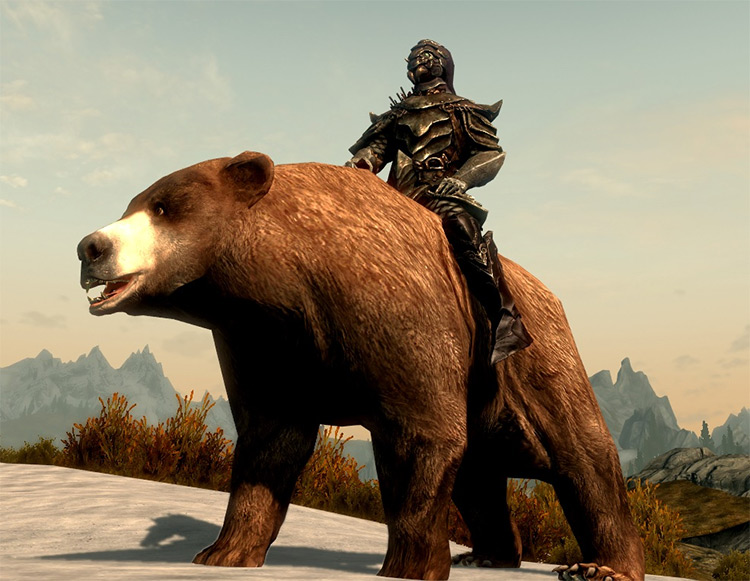 Bears Mounts and Followers mod