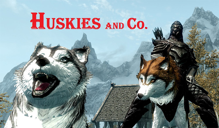 Huskies and Co mod