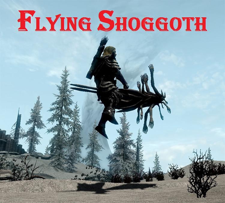 Monsters Mounts Dragonborn mod