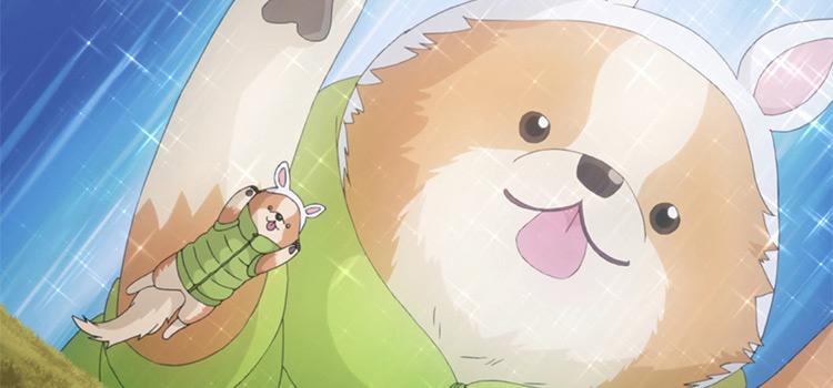 Chikuwa Yuru Camp doggy anime