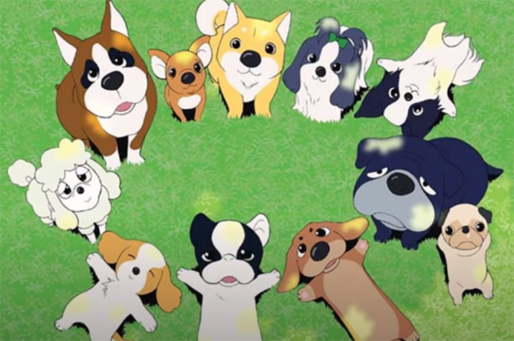 Fortune Dogs Anime