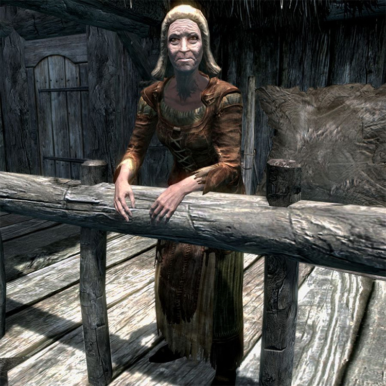 Hilde in Skyrim