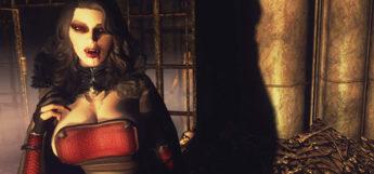 Dynamic appearance of Vampire in Skyrim