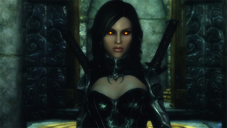 Dynamic Vampire Appearance mod