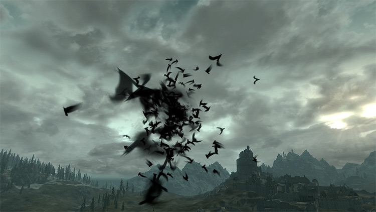 Bat Travel Vampire mod