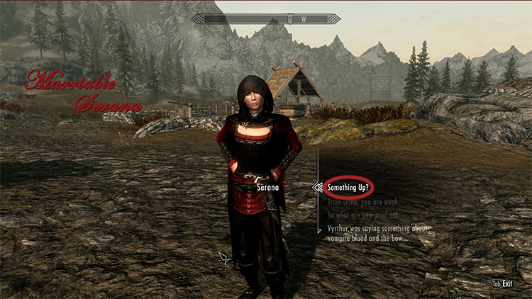 Marriable Serana mod