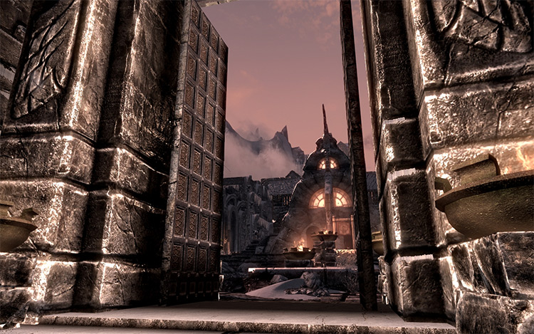 Open Cities Skyrim mod