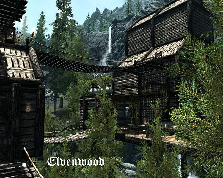 Elvenwood mod for Skyrim