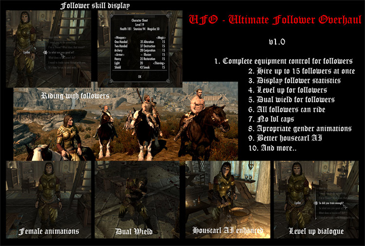 Ultimate Following Overhaul mod