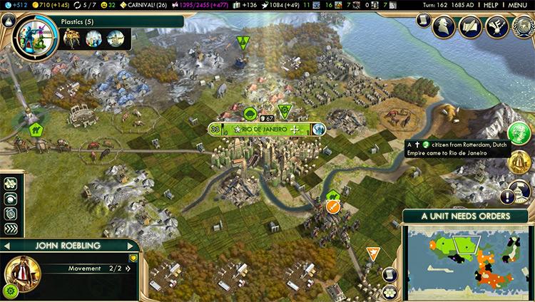 Emigration Civ5 mod