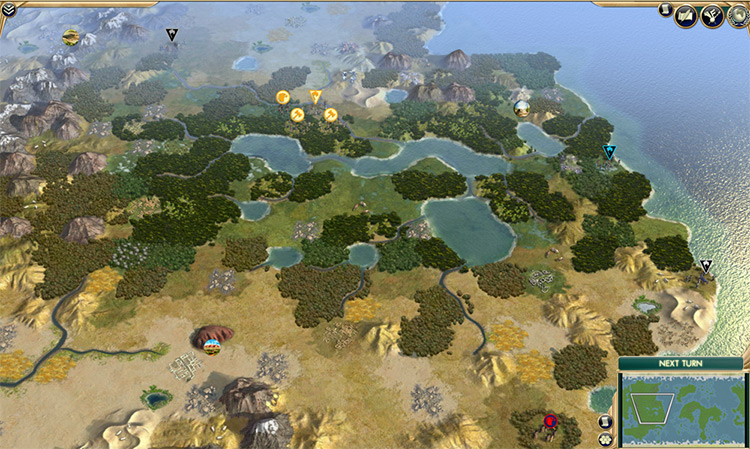 Communitas Map Civ5 mod