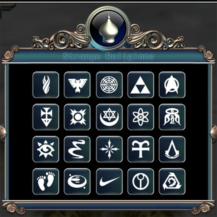 Strange Religions Civ5