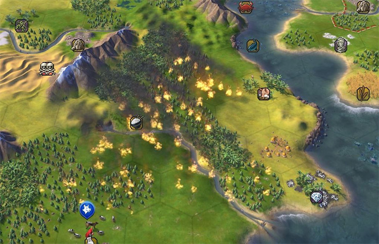 Real Natural Disasters Civ5 mod