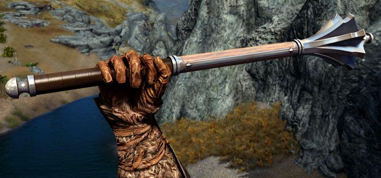 Skyrim Marauder modded battle mace