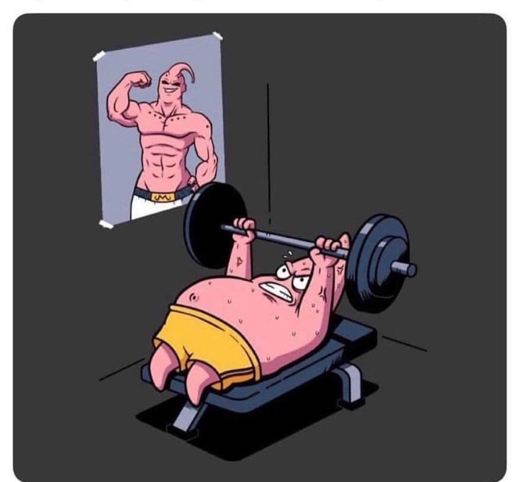 Patrick training majinbuu
