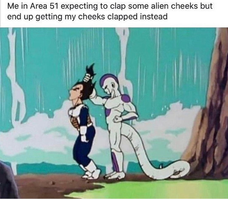 Freiza and Vegeta meme